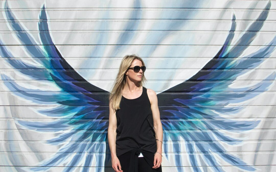 Je déploie mes ailes